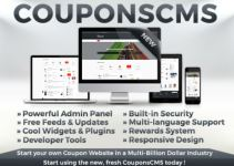 Run Your Own Coupons Website With This Coupons CMS 3