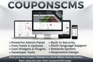 Run Your Own Coupons Website With This Coupons CMS 5