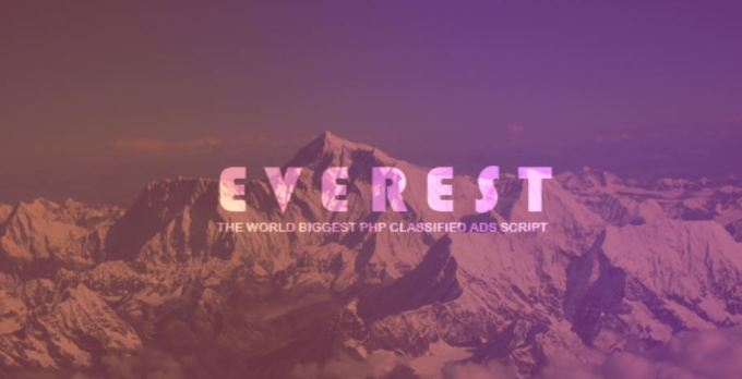 Everest - PHP Classified Script
