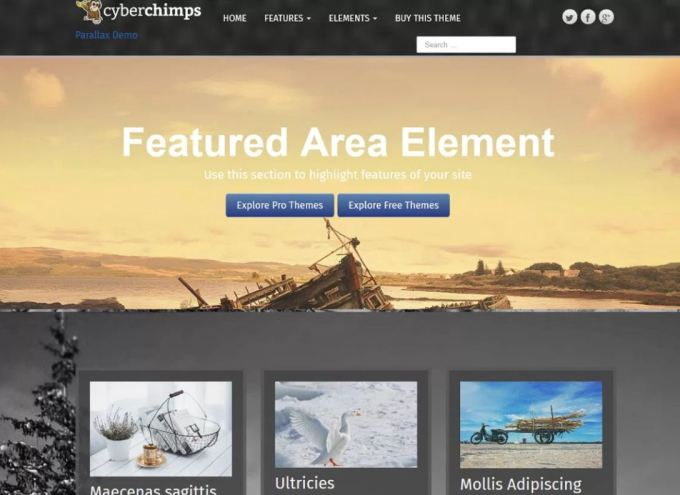 Best Free Responsive WordPress Themes of 2019 3