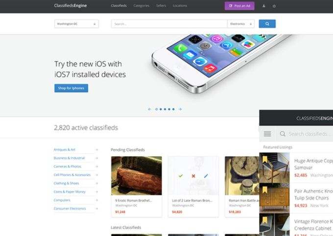 classifiedengine - One of the Best Classified WordPress Themes
