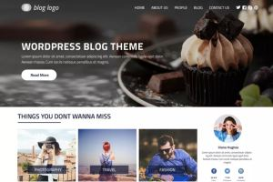 Perfect Blog - Free WordPress Theme