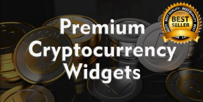 Cryptocurrency Widgets For WordPress - Crypto Price Widget WordPress Plugin 1