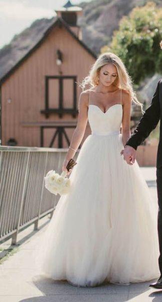 vestidos novia bodas en la playa