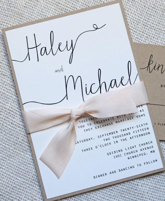 que escribir en las invitaciones de bodas