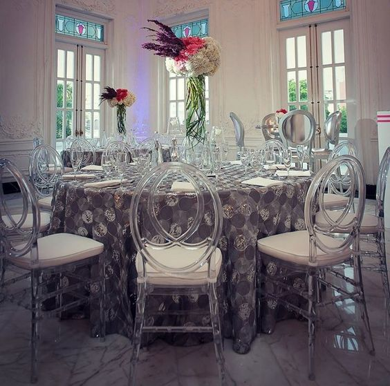 sillas acrilico transparente para bodas