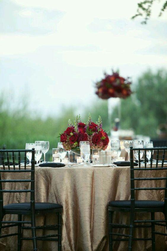 bodas color marsala
