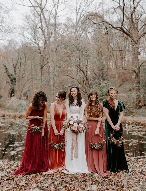 boda en el otoño