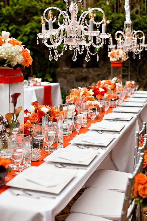boda color naranja