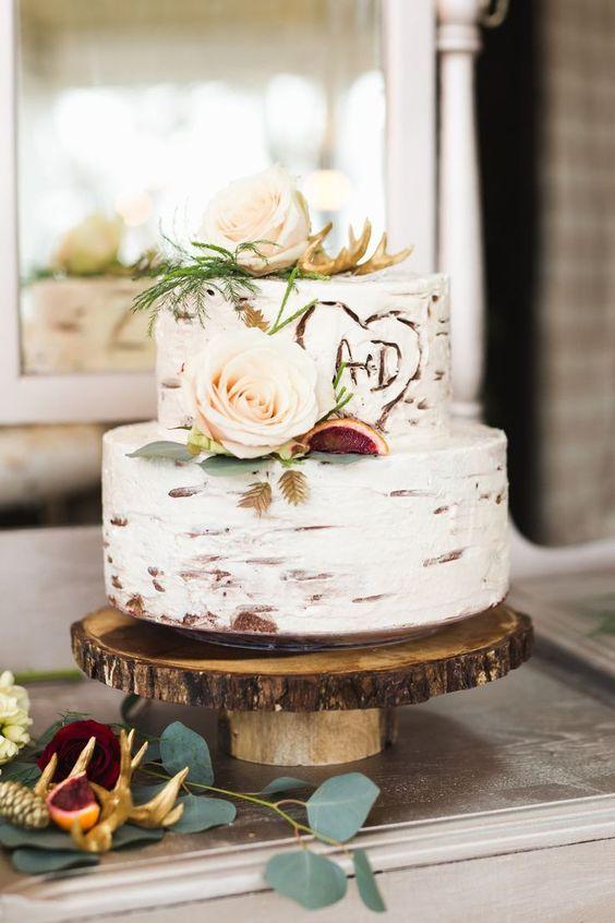 bizcocho boda rústica estilo vaquera