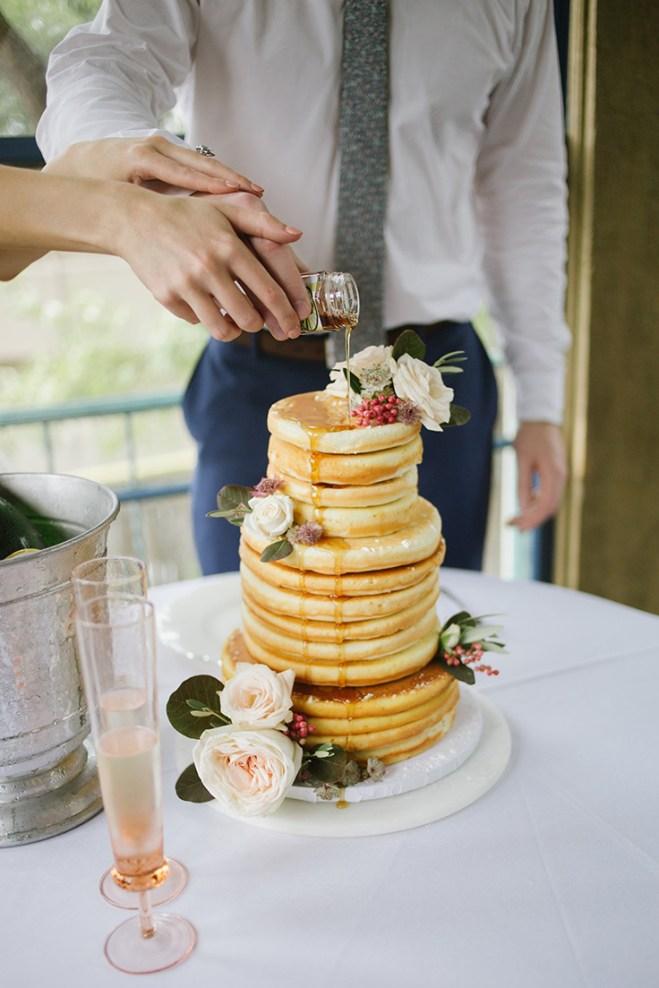 pancakes para la boda