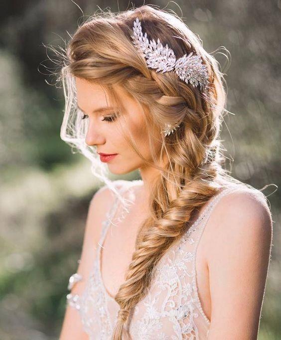 Peinados de novia bodas en verano