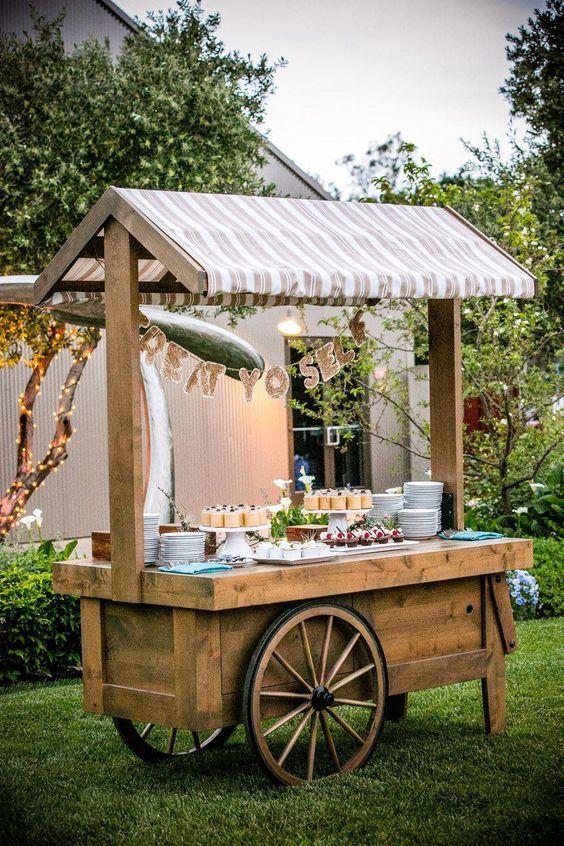 carrito dulces bodas
