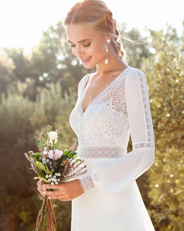 trajes de novia estilo boho