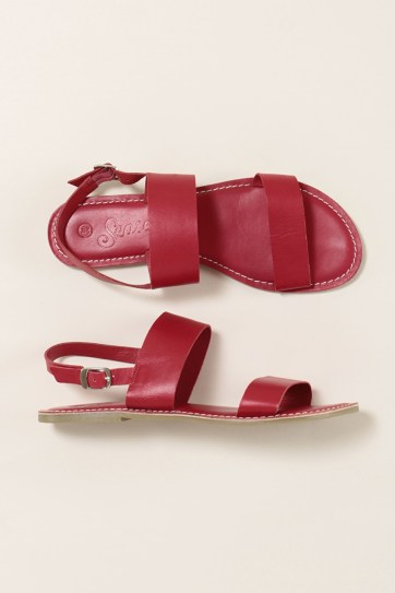 Seasalt Aurora sandals red