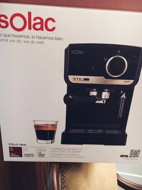 machine expresso Stillo CE4493 Solac