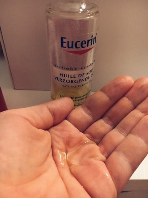 mes soins huiles anti vergetures avis grossesse Eucerin