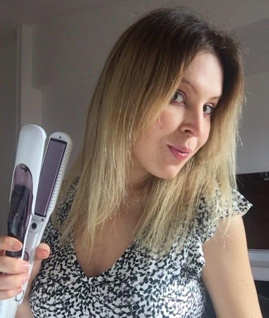 fer lissage cheveux vapeur Steam Lisse Solac