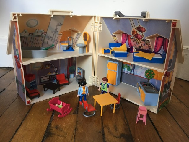 la maison transportable Playmobil