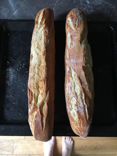 recette baguettes comme chez le boulanger