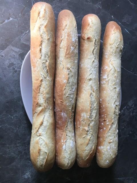 recette facile baguettes comme chez le boulanger