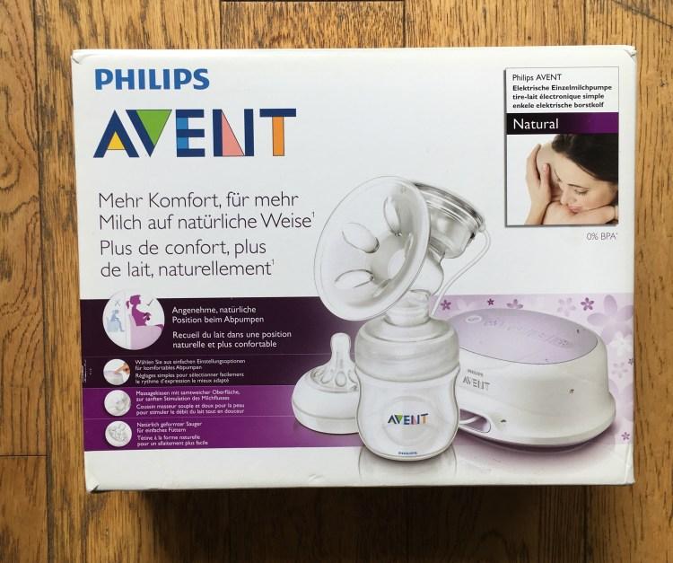 tire-lait électronique simple Phillips Avent test et avis