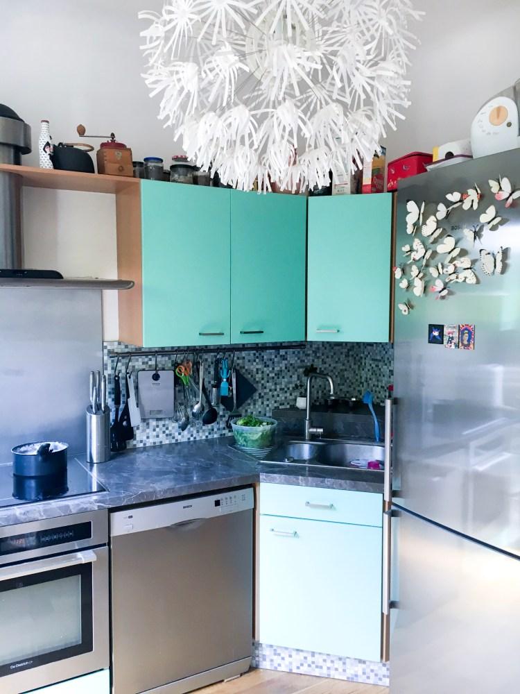 the smart tiles mosaïques autocollante dans ma cuisine