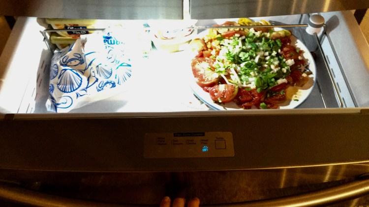 tiroir du frigo américain samsung