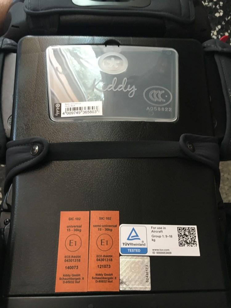 kiddy gardianfix3 fauteuil voiture sécurité enfant bébé .JPG
