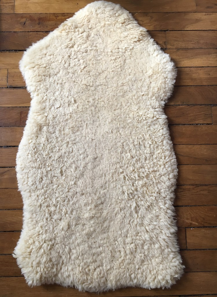 peau d'agneau bébé aprés 3 ans
