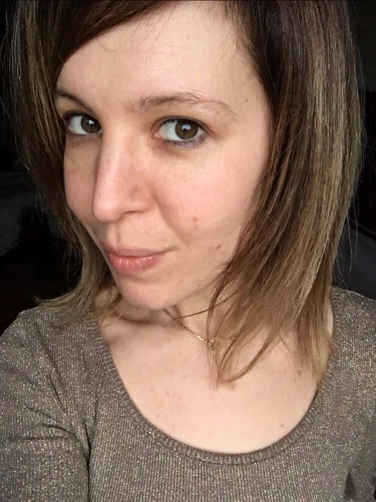 ombré hair blond foncé 6 et 6.32 Majirel sur cheveux méchés