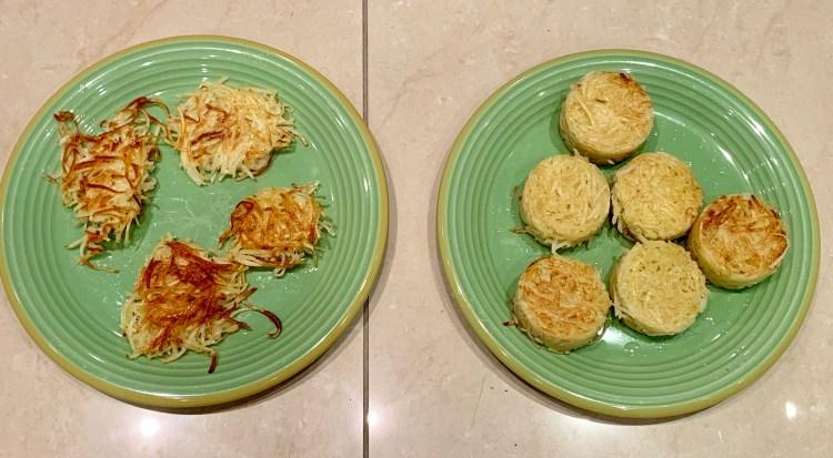 recette facile galettes de pommes de terre à la poele
