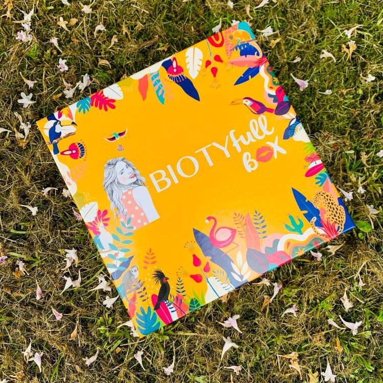 Biotyfullbox Aout 2021