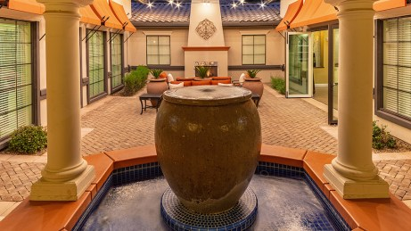 Clubhouse Courtyard Fountain