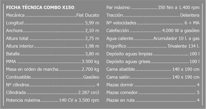 CHALLENGER COMBO X150 CAMEPR AUTOCARAVANA ft EnCaravana