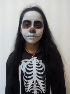Mosaico 14. Skeleton girl