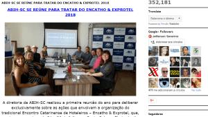 Encatho & Exprotel 2018 na mídia