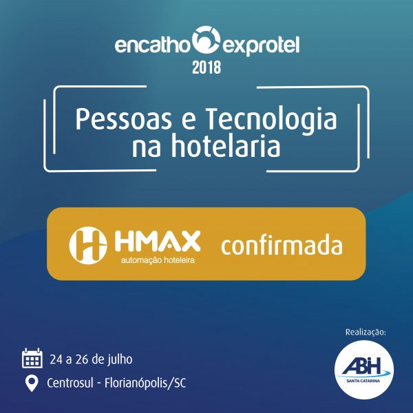 HMAX - Administração e monitoramento do seu hotel através de qualquer dispositivo móvel
