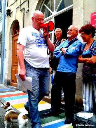 Présentation Antoine Simon Avec Dani Orviz et Charles Pennequin