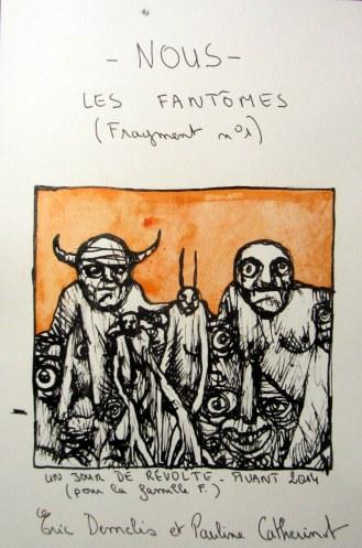 Nous, les fantômes - (Août 2014) - Illustrations Eric Demelis