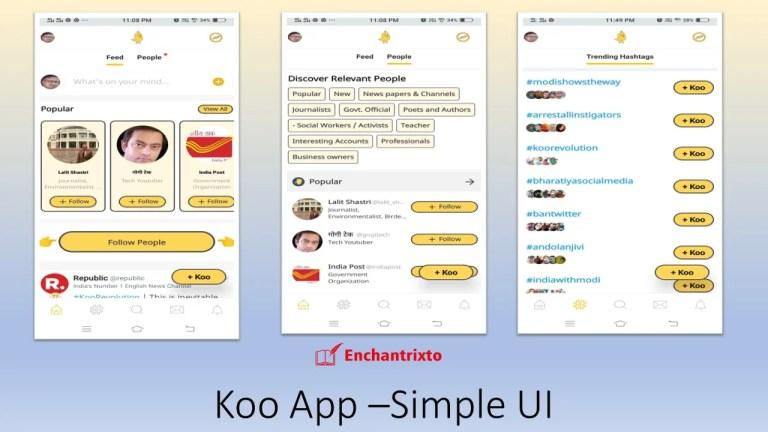 Koo App Twitter Alternative UI