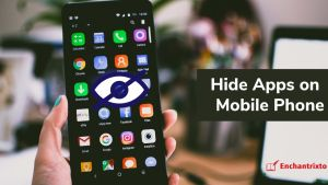 Hide Apps on Mobile Phone