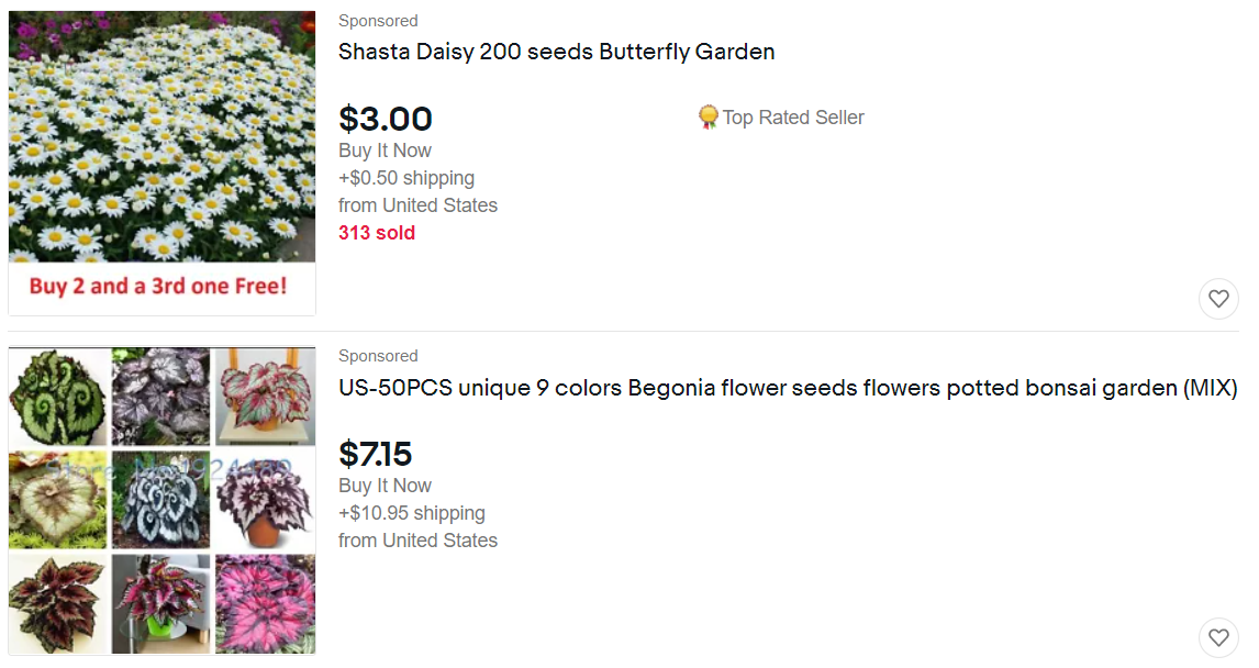 Home and Gardening on Ebay