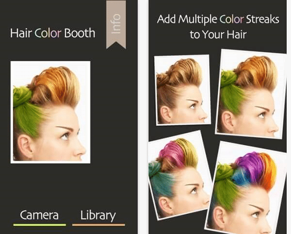 Hair Color Booth - Best Hair Color App