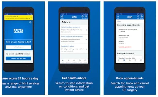 NHS Smartphone Application