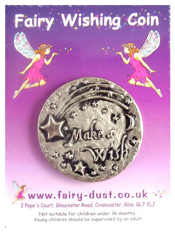 Fairy Wishing Coin Make A Wish