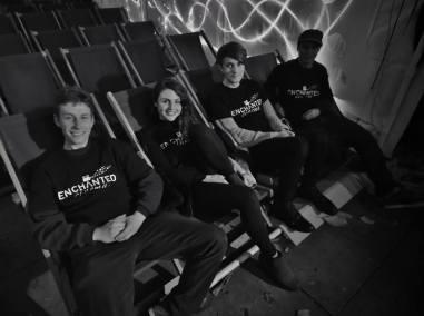 enchanted cinema halloween screening - team deckchairs cambridge blue