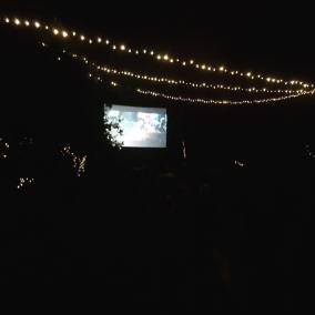 Magical outdoor cinema at The Orchards - Gatsby at Enchanted Cinema