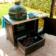 big green egg outdoor kitchen cooking grilling
