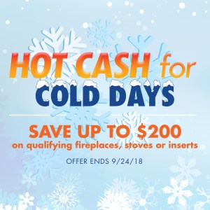 Fireplace and Stove sale up to $200 off at Enchanted Fireside